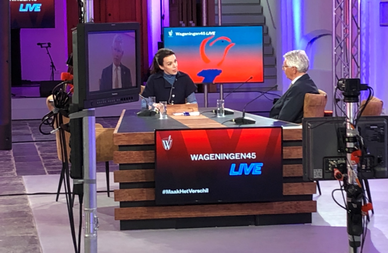 Wageningen45 LIVE! vanuit de Grote Kerk Wageningen