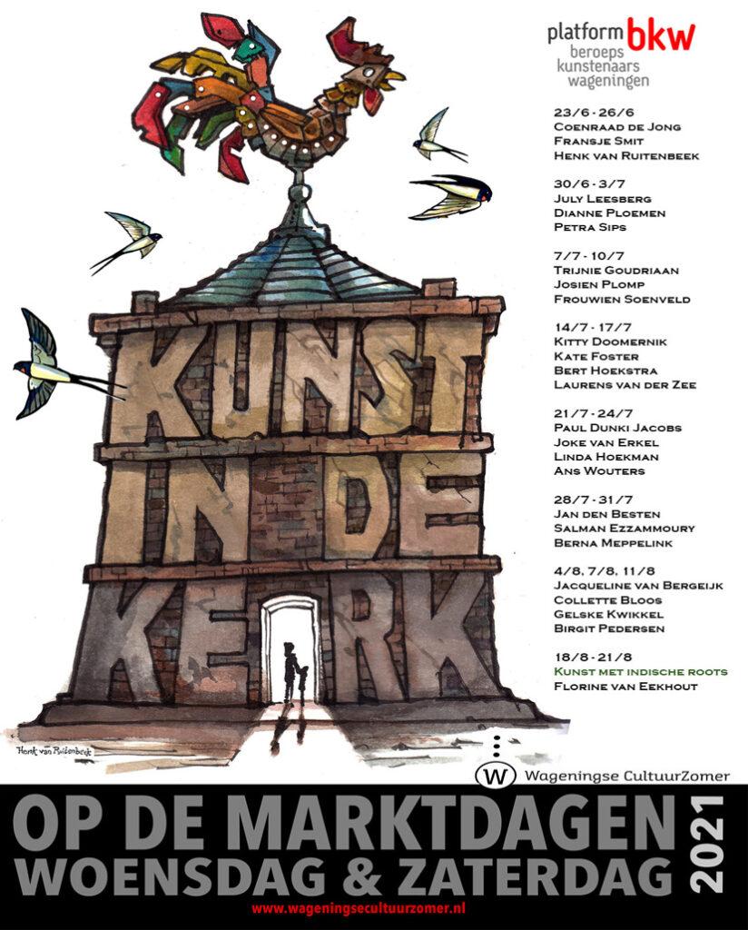Negen weken 'Kunst in de Kerk'    Wageningse CultuurZomer